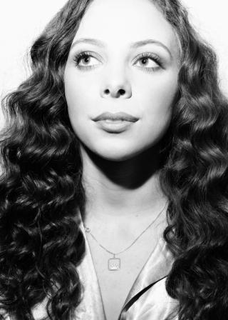 A black-and-white headshot of bassist Marika Galea.