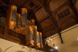 L'orgue de la Salle Redpath; Crédit: Peter Matulina