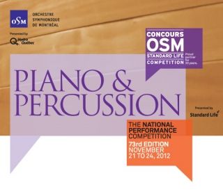Schulich School of Music winners at this year's OSM competition
