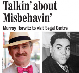Patrick Hansen will be joining Murray Horwitz for Ain't Misbehavin'