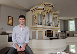 Schulich School of Music Doctoral Organ student Thomas Pousont