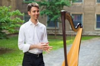 Antoine Mallet-Chénier, harp