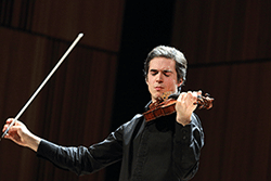 Victor Fournelle-Blain winner of the 2014 Golden Violin Competition