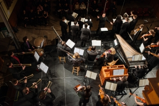 Baroque Orchestra and Cappella Antica; Credit: Tam Lan Truong