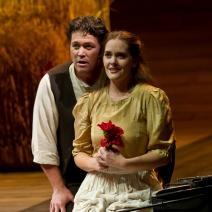 John Bellemer and Jessica Muirhead are ideal as the lovers in A Village Romeo an