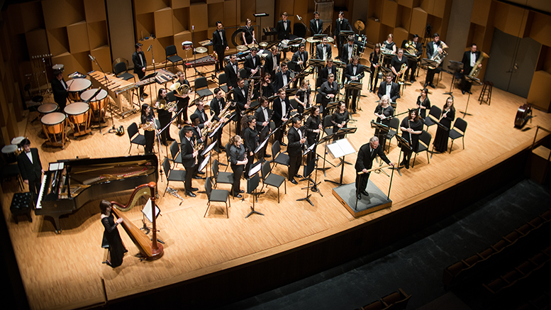 McGill Wind Symphony Orchestra in concert