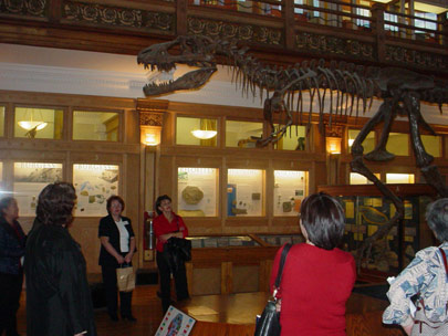 Tour of the Redpath museum during our Wine and Cheese Event, Sept/04