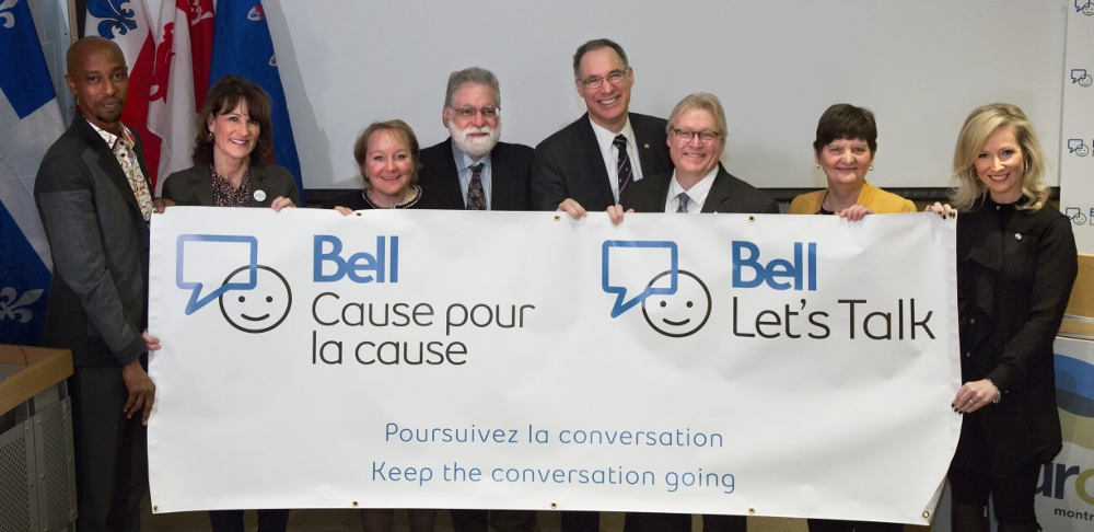Bell Let's Talk supports mental health with The Neuro | The Neuro