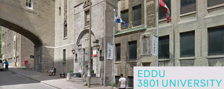 Entrance to EDDU at 3801 University