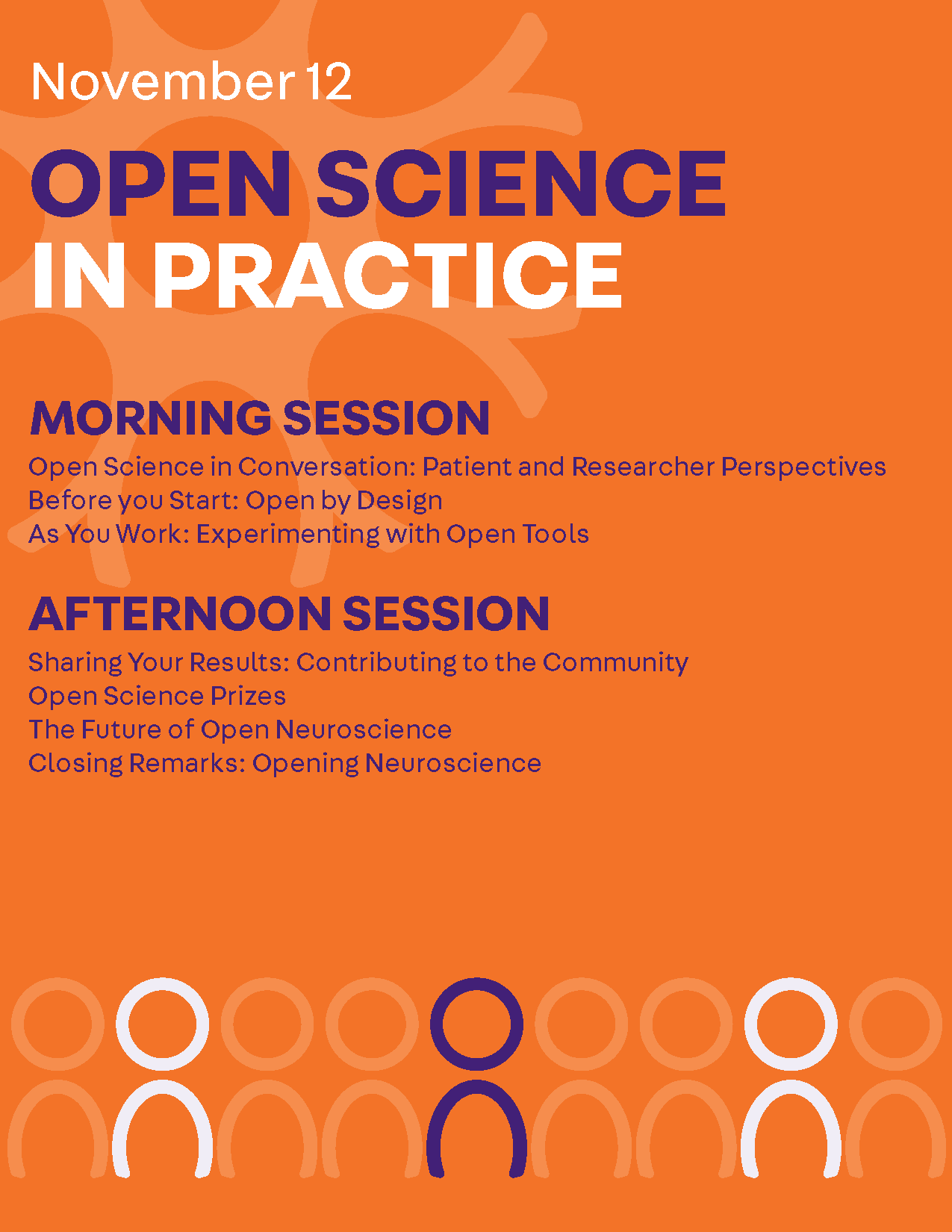 Open Science day 1 schedule