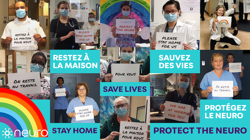 Stay home, Save Lives, Protect The Neuro
