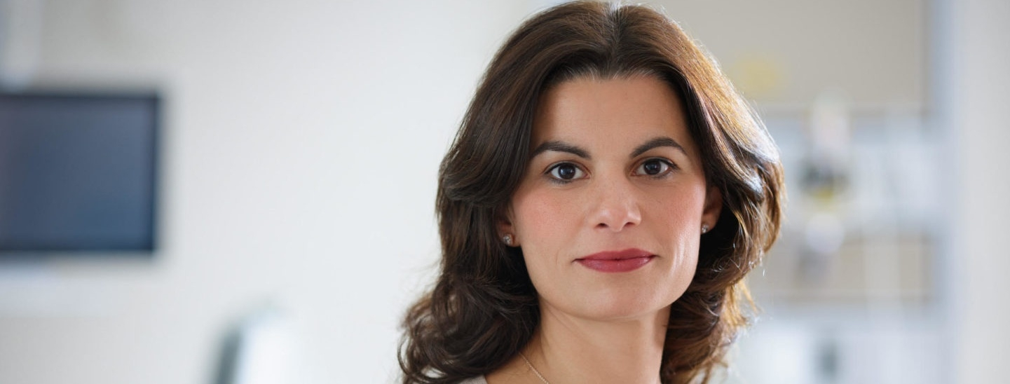 Georgia Niarchos is Associate Director of Neurosciences in charge of patient care and services