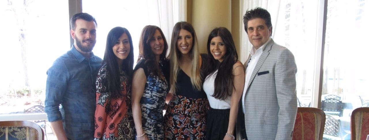 Josie Maiorino Arcobelli and family