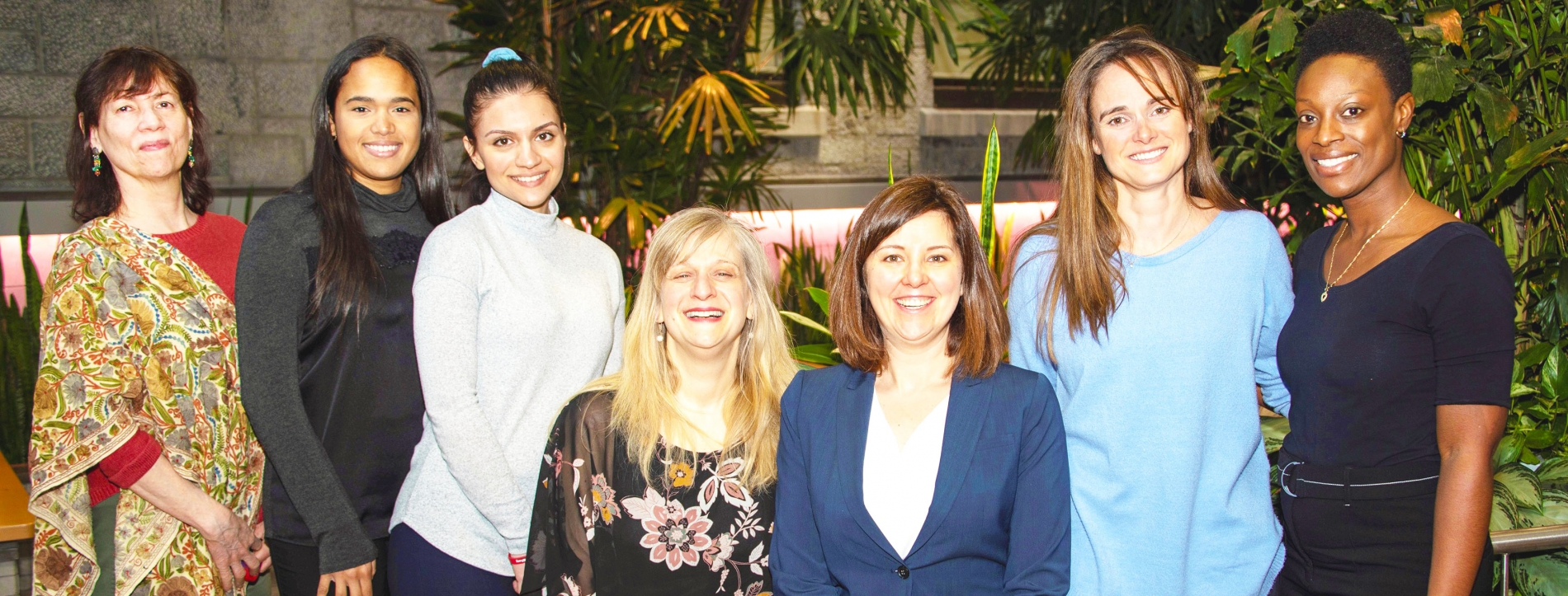 Women from The Neuro's Social Services team
