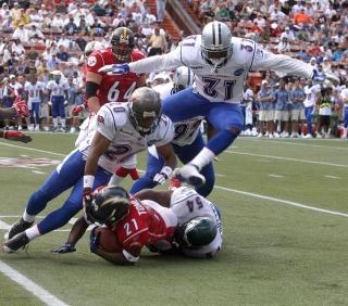 Les commotions cérébrales sont courantes dans les sports de contacte comme football et hockey.