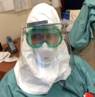 The face shields are specially designed for the needs of medical staff working in close contact with COVID-19 patients