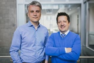 Dr. Kevin Petrecca and Frédéric Leblond.