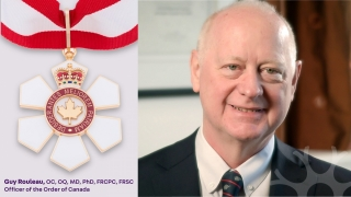 Dr. Guy Rouleau is being recognized with the Order of Canada for his outstanding contributions as a clinician-scientist and as a leader in health care.
