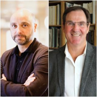 Sylvain Baillet (gauche) et Alan Evans (droit) sont deux bénéficiaires des subventions annoncées par le gouvernement du Canada et la Fondation Brain Canada.