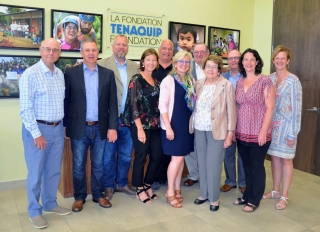 This is the second major donation by The Tenaquip Foundation to ALS research and care at The Neuro.