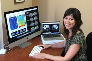 Sylvia Villeneuve is an assistant professor at McGill University and a core faculty member at The Neuro's McConnell Brain Imaging Centre