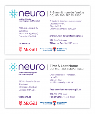 Neuro business card 2020