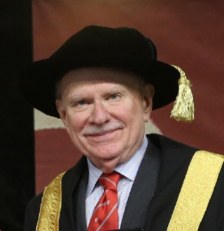 McGill Chancellor Arnold Steinberg at a Spring 2013 Convocation ceremony.