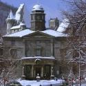 Le campus du centre-ville en hiver