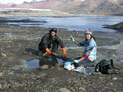 arctic sampling