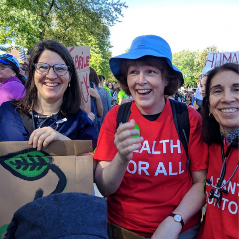 GAIHN members at climate march