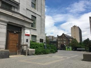 Photo of Dawson Hall exterior