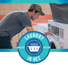 Laundry in Rez