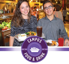 Campus food and drink