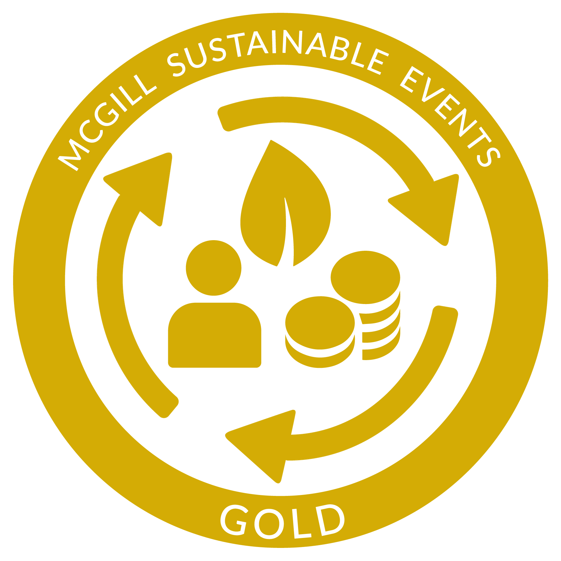 McGill Sustainable events GOLD