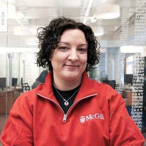 Photo of a McGill recruiter