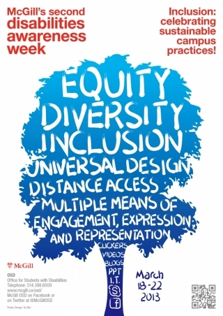 Disability Awareness Week Poster