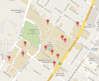 Campus Maps Downtown MacDonald Office for Students with