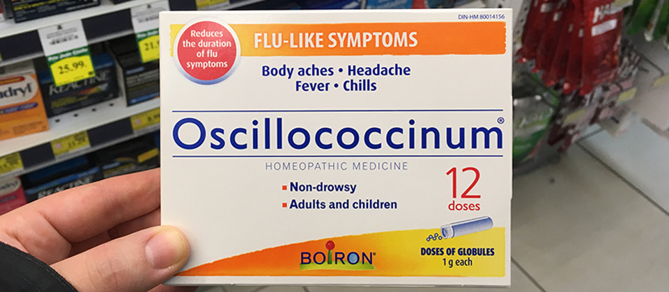 Two-Thirds of Montreal Pharmacies Sell This Quack Flu Buster