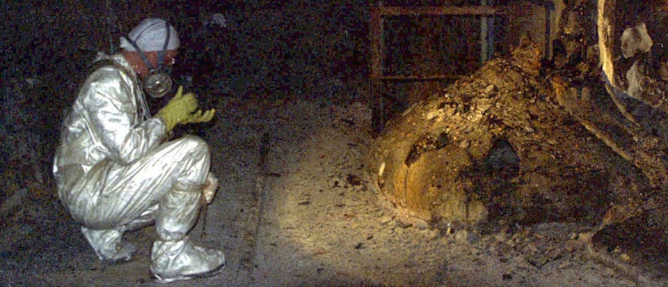 The Elephants Foot of Chernobyl | Office for Science and