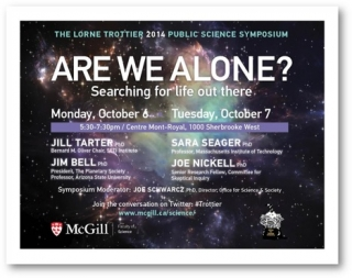 2014 Trottier Symposium poster