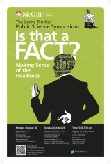 Trottier Symposium: Is That a Fact? Making Sense of the Headlines.