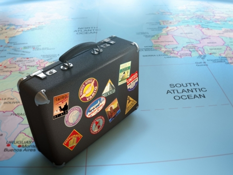 Suitcase for travelling