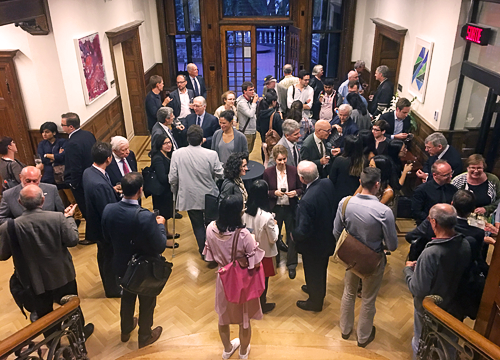 Cocktail reception in the foyer following the Brierley Lecture