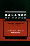 Book cover for T.V. Paul's Balance of Power