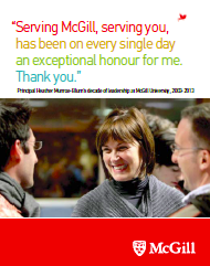 Read about Heather Munroe-Blum's decade of leadership at McGill