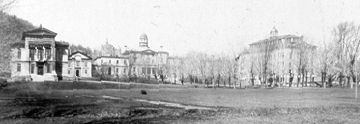 The Redpath Museum (far left) in its early days