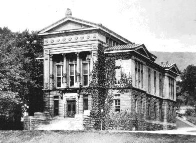 An old image of Redpath Museum