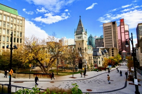 McGill downtown campus