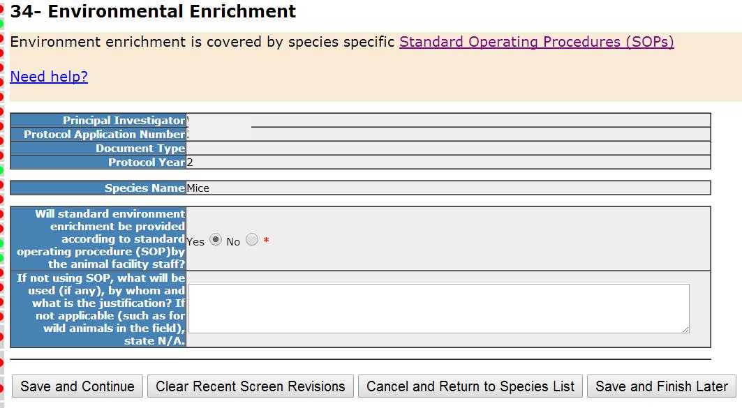 Section 34- Environmental Enrichment