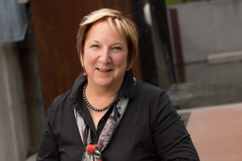 Photo portrait of Martha Crago, Vice-Principal, Research and Innovation